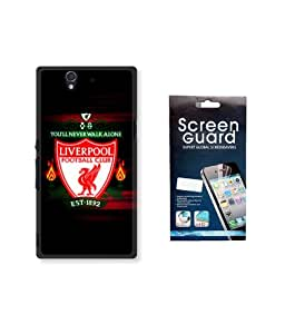 KolorEdge Fifa Back case + Screen Protector for Sony Xperia Z - Multicolor