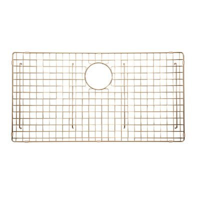 Rohl WSGRSS3616SC WIRE SINK GRID FOR RSS3616 KITCHEN SINKS IN STAINLESS COPPER VINYL WITH FEET WIRE SINK GRID RSS3616 S.CO