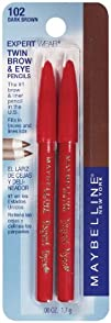 Maybelline New York Expert Wear Twin Brow and Eye Pencils