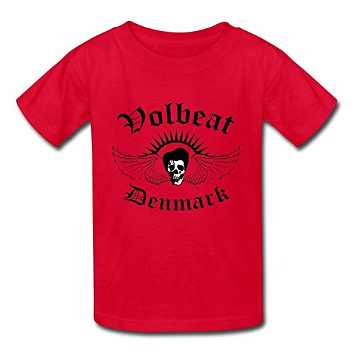 Goldfish Youth Cool Style Short Sleeve Volbeat T-Shirt XLarge