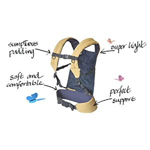 Patapum Toddler Carrier-Navy
