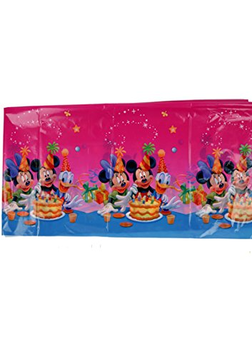 Funcart Mickey Mouse Theme Plastic Cover Sheet