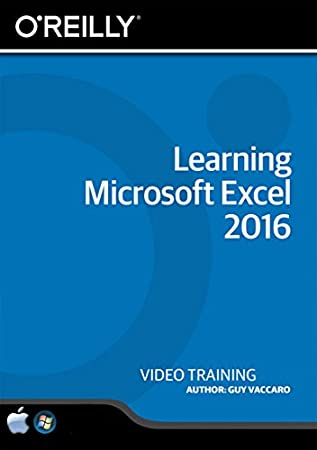Learning Microsoft Excel 2016 - Training DVD