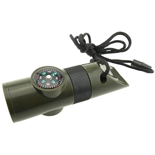 Advanced-Camping-Supplies-7-in-1-Zombie-Apocalypse-Survival-Kit-Safety-Whistle-Magnifying-Lens-Bright-LED-Flashlight-Signal-Mirror-Compass-Thermometer-Long-Life-BatteryIncluded-and-Lanyard
