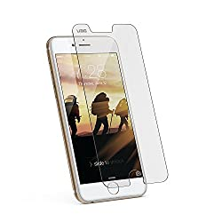 URBAN ARMOR GEAR Screen Protector for iPhone 6 Plus/6s Plus, Tempered Glass Screen Shield-Retail Packaging