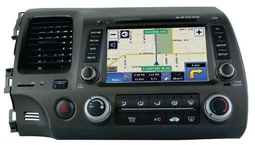 Myron U0026 Davis NV7HCV1 2006 2011 Honda Civic In Dash Navigation System Review