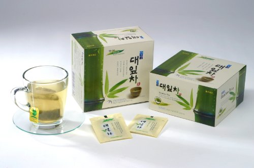 [Korea Food] Bamboo Leaf Tea Bag 0.7G*50Ea 대잎차