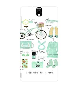 EPICCASE Spring is Coming Mobile Back Case Cover For Infocus M330 (Designer Case)