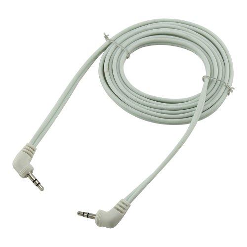 Bullz Audio B35E6Wt 6-Feet Soft Pvc 3.5 Extension Cable, White