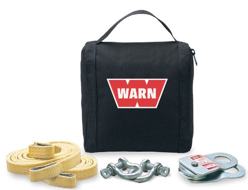 WARN Winching Accessory Kit with Black Nylon Case 69222