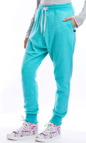 Survtement-Terry-Loose-Aqua-Sweet-Pants