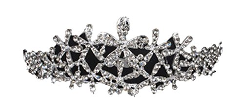 (マイホット) MyHot 豪華 パーティー で みんな お姫様 ラインストーン キラキラ カチューシャ ティアラ 髪飾り F