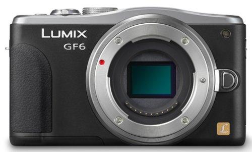 Panasonic ルミックス デジタル一眼カメラ/ボディ ブラック Wi-Fi®+NFC搭載 DMC-GF6-K