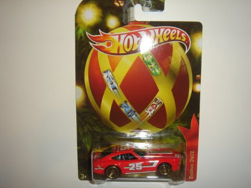 2011 Hot Wheels Holiday Hot Rods Datsun 240Z Red