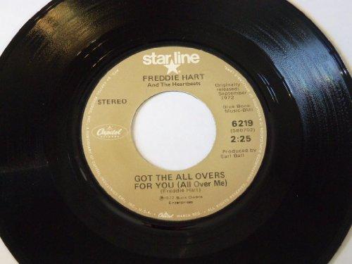 Freddy Hart - Easy Loving / I Got The All Overs For You 45 Freddy Hart - Zortam Music