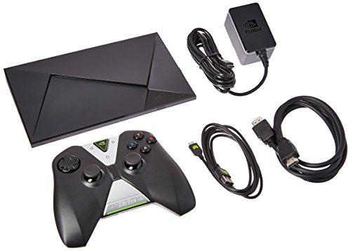 NVIDIA SHIELD - 4K HDR Streaming Media Player, Android TV, Great Gaming - Refurbished