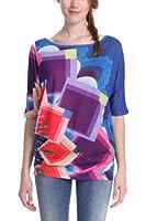 Desigual Sicilia - T-shirt - Manches courtes - Femme