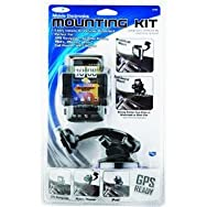 Custom Accessories 23185 GPS/Phone Holder Mounting Kit-WINDSLD PHONE/GPS HOLDER