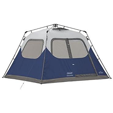 Coleman 6-Person Instant Cabin Tent (Blue)
