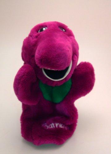 "10"" Barney Hand Puppet Plush front-744796"