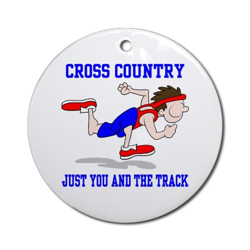 Cross Country Ornament Round Round Ornament