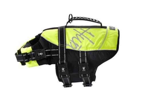 Hurtta Pet Collection Life Jacket, 10-20-Pound, 14-19-Inch Neck, 18-24-Inch Chest, Yellow