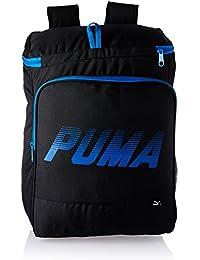 Puma 30 Ltrs Puma Black And Puma Royal Casual Backpack (7415601)