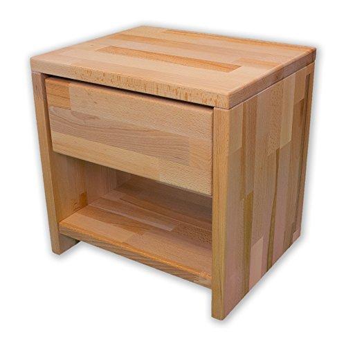 Betten-ABC-Bubema-Nachttisch-Kernbuche-massiv-Natur-gelt-mit-einer-Schublade