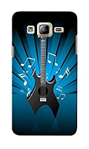 CimaCase Stylish Guitar Designer 3D Printed Case Cover For Samsung Galaxy On7