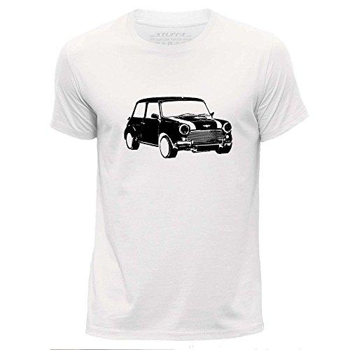 stuff4-hommes-grand-l-blanc-col-rond-t-shirt-stencil-art-de-voiture-mini