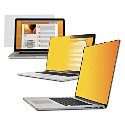 MMMGPFMR13 - Frameless Gold Privacy Filter for 13quot; Widescreen MacBook Pro with Retina Display