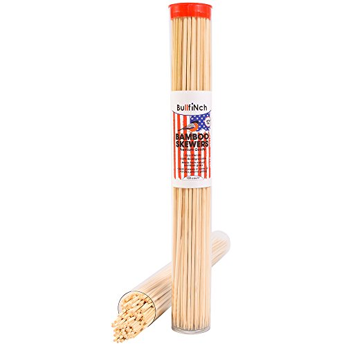 Why Should You Buy Bamboo BBQ Roasting Skewers (100 Count) - 12 Inch Ecofriendly Wooden Sticks - Bio...