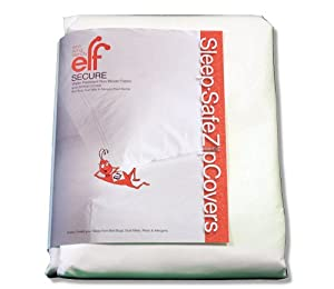 """How Effective Are Bed Bug Mattress Covers Amazon.com - SLEEP SAFE BED BUG, DUST MITE, and ALLERGEN PROOF """"SECURE ..."""