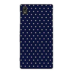 Impressive Colorful Dots Prints Back Case Cover for Sony Xperia Z1
