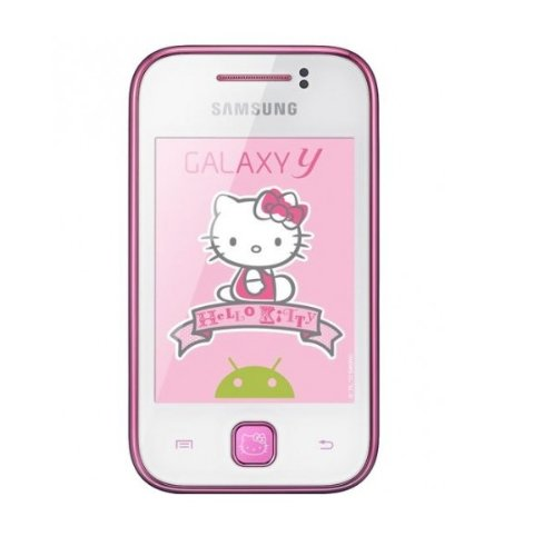 Link to Samsung Galaxy Y S5360/S5363 Unlocked GSM Phone with Android 2.3 OS, Touchscreen, 2MP Camera, GPS, WiFi, Bluetooth, FM Radio and microSD Slot – Hello Kitty SALE