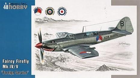 Special Hobby 48041 Fairey Firefly IV/V/VI 1:48 Plastic Kit Maquette