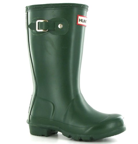 Hunter Original Green Youth Wellington Boots
