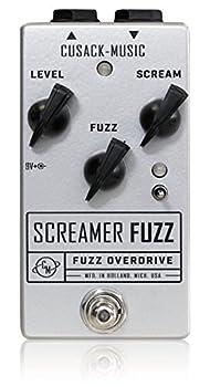 Cusack Music Screamer Fuzz V2 キューザックミュージック スクリーマーファズブイツー オーバードライブファズ 国内正規品