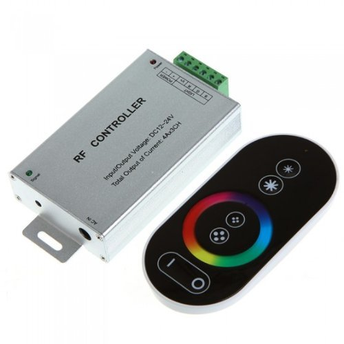 Generic Dc 12-24V Wireless Rf Touch Panel Led Rgb Dimmer Remote Controller For Rgb Led Strips