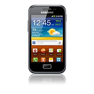 Vodafone Samsung Galaxy Ace Plus Pay as you go Smartphone - Black