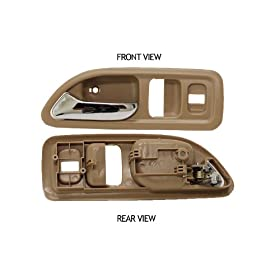 Honda Accord Coupe USA Beige Inside Front Driver Side Replacement Door Handle