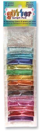 2 gr. Glitter Sample Pack - 16PK
