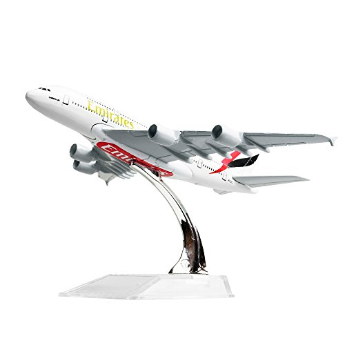 The United Arab Emirates Airline A380 Metal Airplane Models Child Birthday Gift (Emirates Model compare prices)