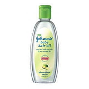 Johnson's Baby Avacado Hair Oil (200ml)