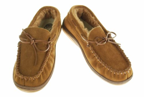 Cheap Rockport Indoor/Outdoor Slippers-Suede (B005566SLO)
