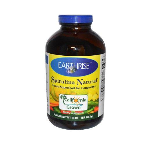 Earthrise Spirulina Natural Powder - 16 Oz