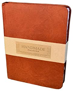 Global Art Materials Hand-book Journal Handmade Watercolor Book, 11-Inch-by-15-Inch, Portrait