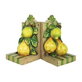 Sterling Home Pair of Le Jardin Bookends 7-1/2-Inch Tall