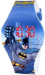 Batman Kids' BAT4095 Digital Display Analog Quartz Blue Watch