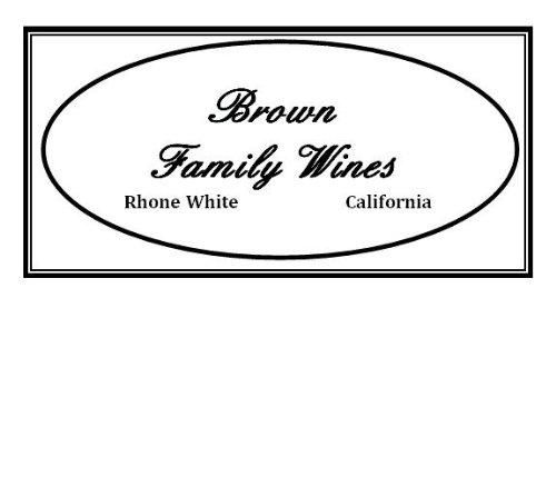 Nv Brown Family Wines Rhone White California 750 Ml